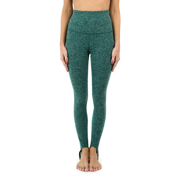 spacedye high waisted riding legging