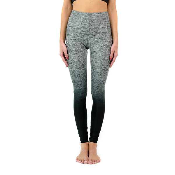 ombre high waisted long legging