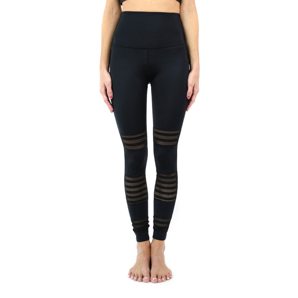 mesh to impress high waisted midi legging