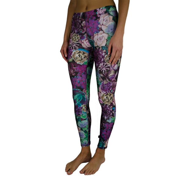 terez-purple succulent performance legging-mercer & winnie
