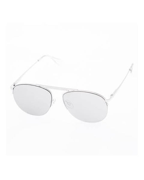 le specs-liberation sunglasses - silver-mercer & winnie