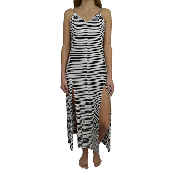 first base-vibe long line dress-mercer & winnie
