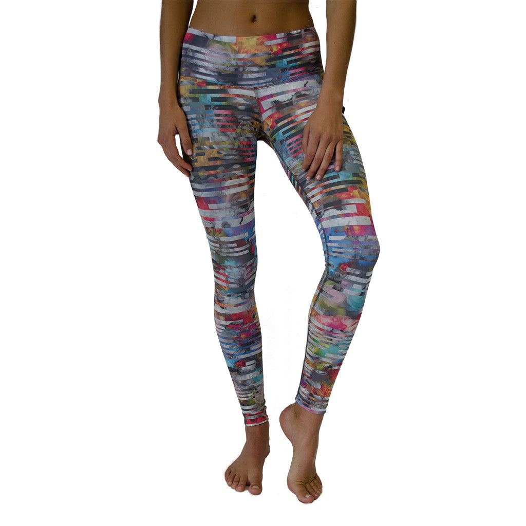 nux-paris floral printed reversible legging-mercer & winnie