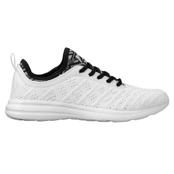 men's techloom phantom - white/black/white