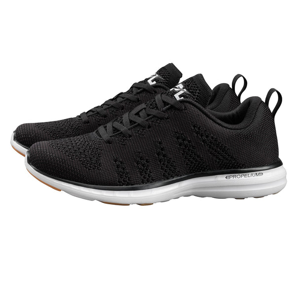 APL-men's techloom pro - black/white/gum-mercer & winnie