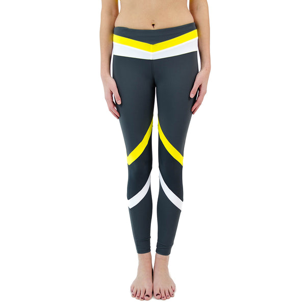 tri color legging