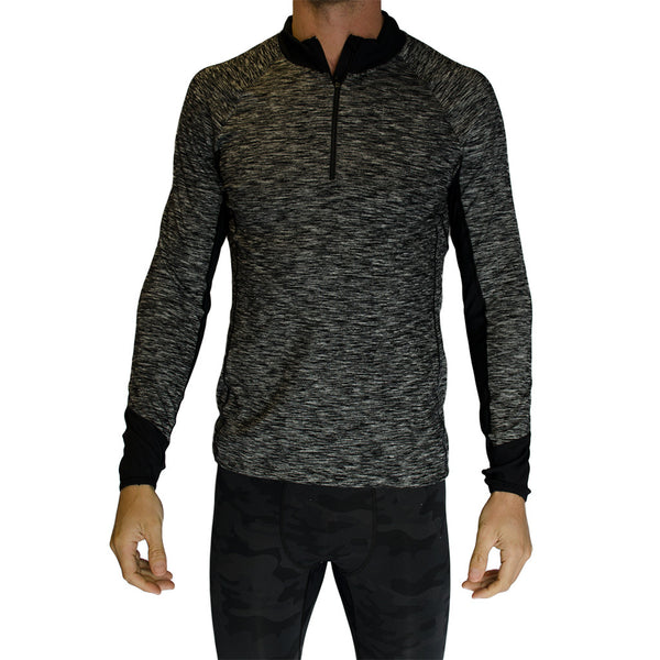 vimmia men's-renegade half zip pullover-mercer & winnie