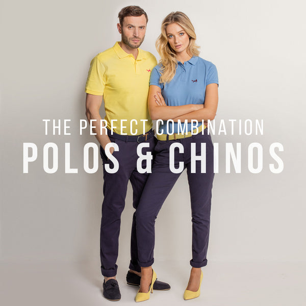 The Perfect Combination - Polos & Chinos