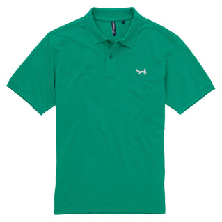 Asquith & Fox Men's Classic Piqué Polo Shirt In Kelly