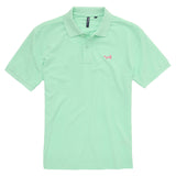 Asquith & Fox Men's Classic Piqué Polo Shirt In Mint