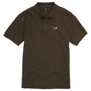Asquith & Fox Men's Classic Piqué Polo Shirt In Olive