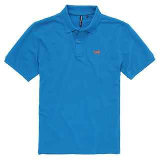 Asquith & Fox Men's Classic Piqué Polo Shirt In Sapphire