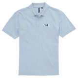 Asquith & Fox Men's Classic Piqué Polo Shirt In Sky