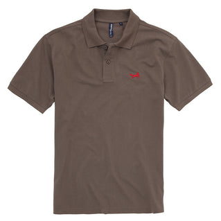 Asquith & Fox Men's Classic Piqué Polo Shirt In Slate