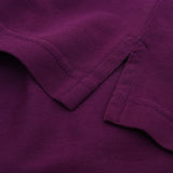 Asquith & Fox Men's Classic Piqué Polo Shirt In Vintage Washed Purple