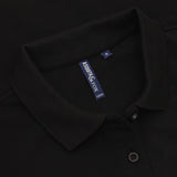 Asquith & Fox Women's Classic Piqué Polo Shirt In Black