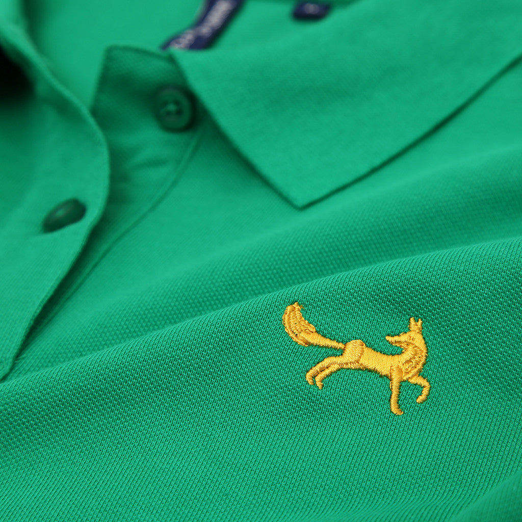 Asquith & Fox Women's Classic Piqué Polo Shirt In Kelly