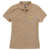 Asquith & Fox Women's Classic Piqué Polo Shirt In Khaki