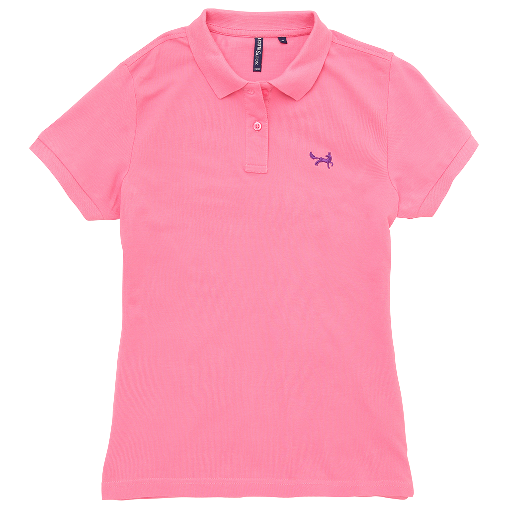 Women s Classic Piqué Polo Shirt In Pink Carnation – Asquith   Fox f2a122ed01
