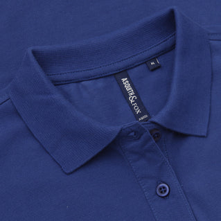 Asquith & Fox Women's Classic Piqué Polo Shirt In Royal