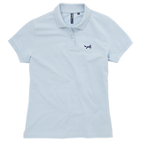 Women's Classic Piqué Polo Shirt In Sky