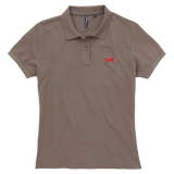 Women's Classic Piqué Polo Shirt In Slate