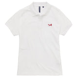 Asquith & Fox Women's Classic Piqué Polo Shirt In White