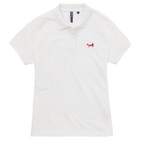 Women's Classic Piqué Polo Shirt In White