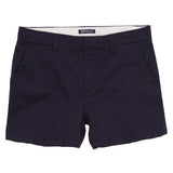 Asquith & Fox Women's Classic Chino Shorts In Navy