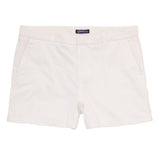 Asquith & Fox Women's Classic Chino Shorts In White