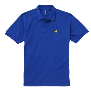 Men's Classic Piqué Polo Shirt In Bright Royal