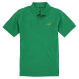 Asquith & Fox Men's Classic Piqué Polo Shirt In Kelly Heather
