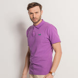 Men's Classic Piqué Polo Shirt In Orchid