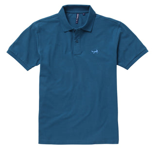 Men's Classic Piqué Polo Shirt In Peacock