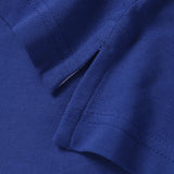 Asquith & Fox Womens Contrast Collar Polo In Royal Blue and White