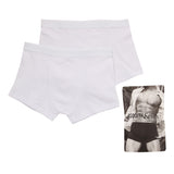 Asquith & Fox Men's Trunks In White (2 Pack)