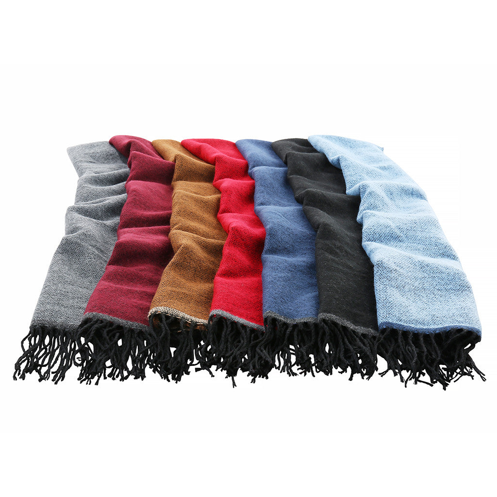 Asquith & Fox Unisex Two Tone Soft Feel Scarf
