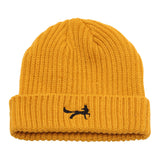 Asquith & Fox Unisex Fisherman Beanie In Mustard