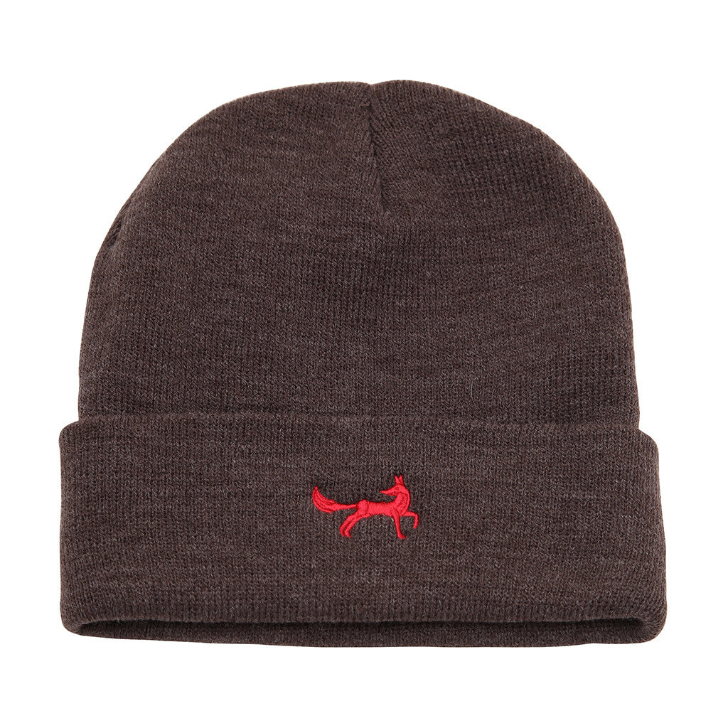 Asquith & Fox Unisex Knitted Beanie In Charcoal
