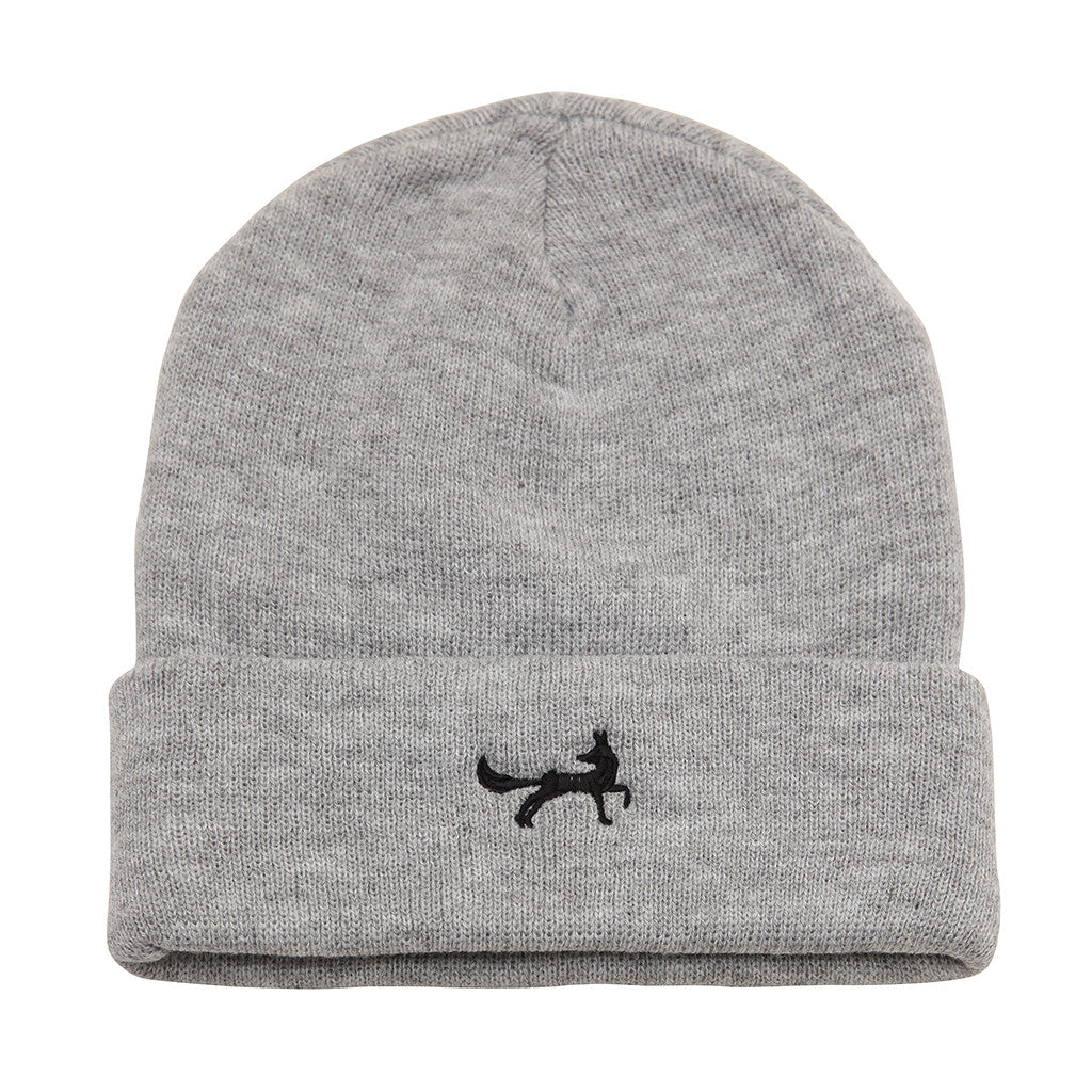 Asquith & Fox Unisex Knitted Beanie In Grey Heather