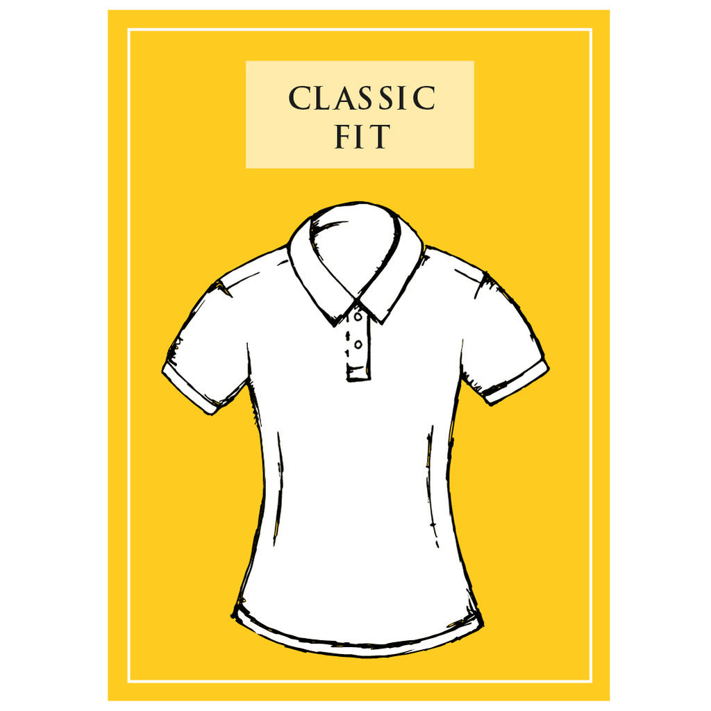 Women's Classic Piqué Polo Shirt In Orange