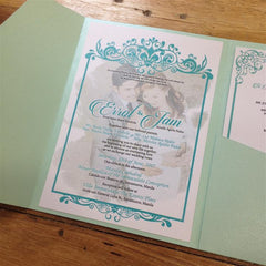 "Pocketfold 5""x7"" Invites"