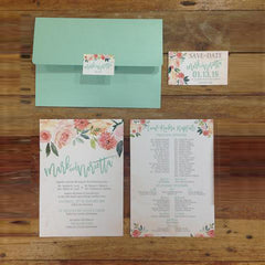 "2-Paged 5""x7"" Invites"