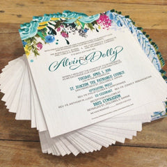 1-Paged Semi-Square Invites