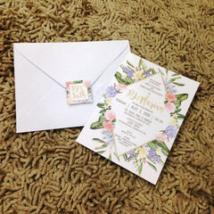"1-Paged 5""x7"" Invites"
