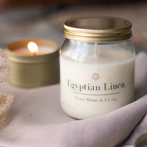 Egyptian Linen Szójagyertya 250ml