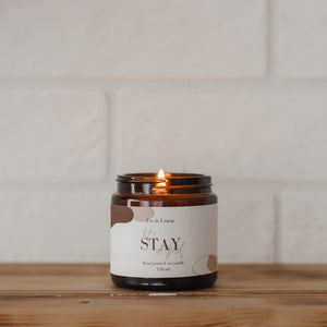 LET'S STAY IN BED - Fresh Linen Szójagyertya 120 ml