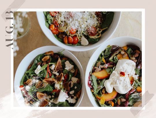 Party in your mouth: 3 Summer Salads