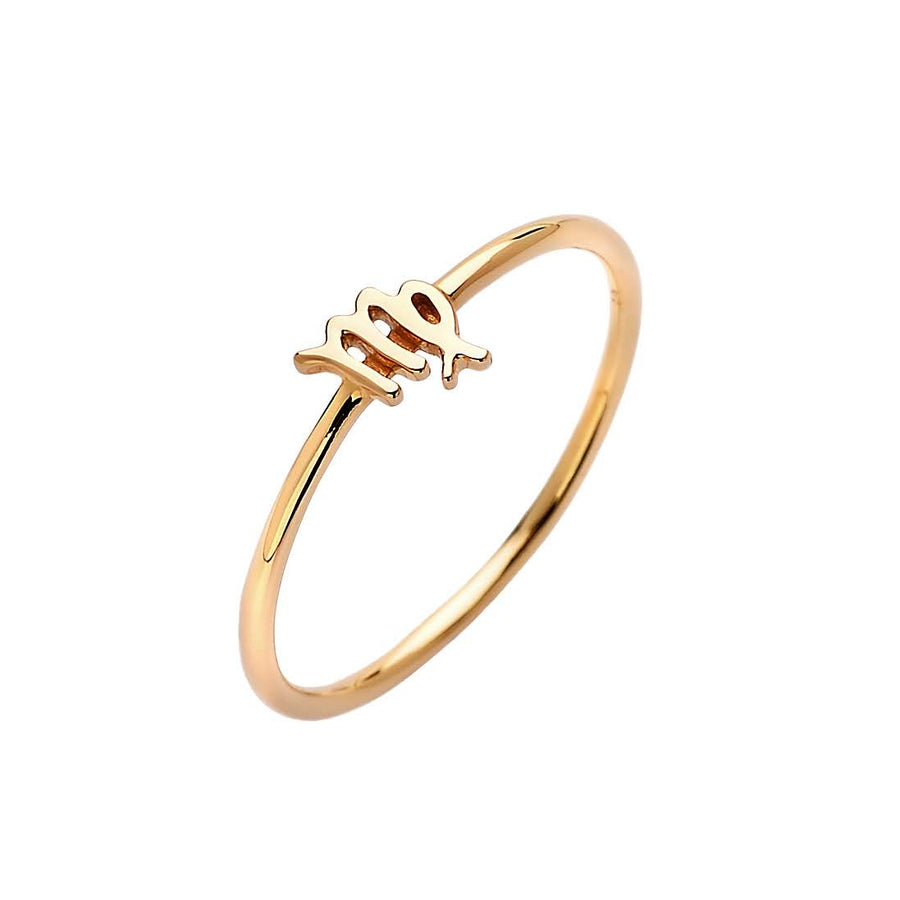 Zodiac Ring Gold