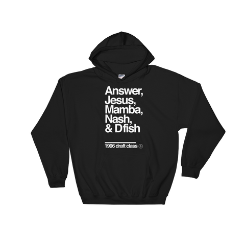 1996 Draft Class Hoodie - Basketball Forever Shop